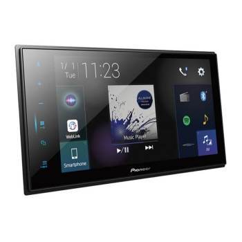 Pioneer Reproductor DMH-ZS8250BT DVD, AUX, CD,MP3, USB, BT, SD, IPHONE, ANDROID, WAZE